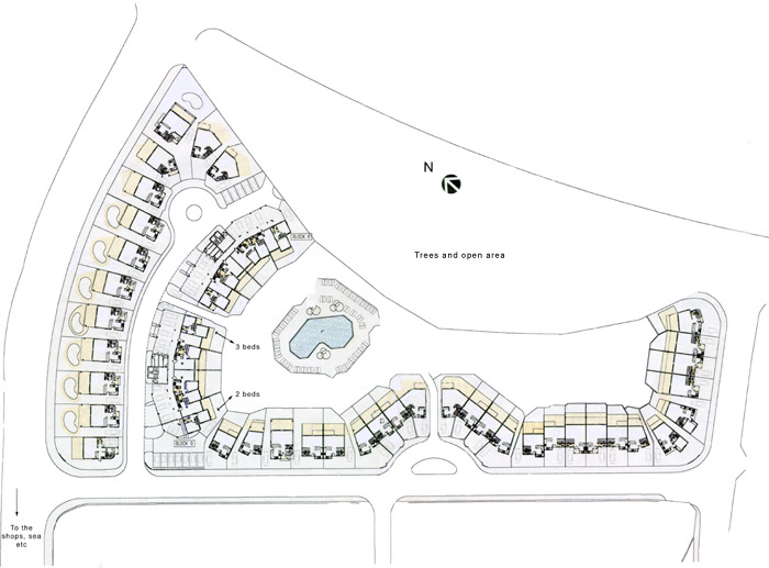 Limnaria Villas Site Plan